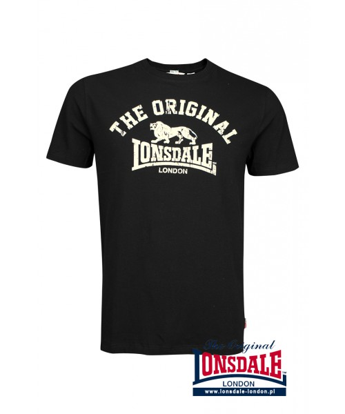 T-shirt Lonsdale London ORIGINAL Czarny