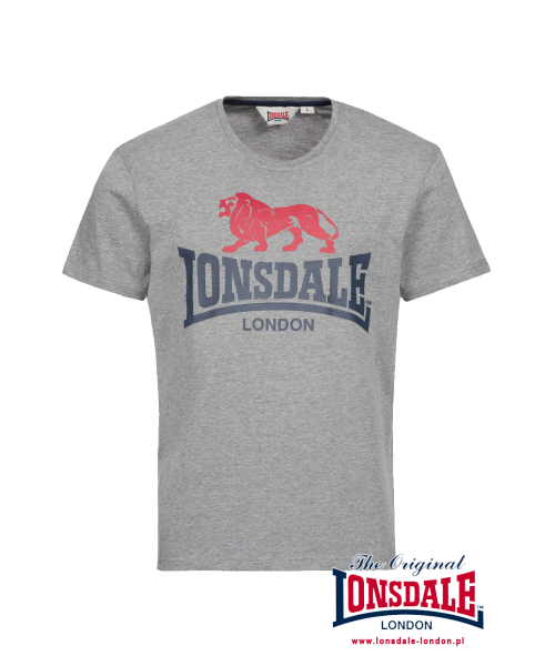 T-shirt LONSDALE LONDON PEBWORTH Szary