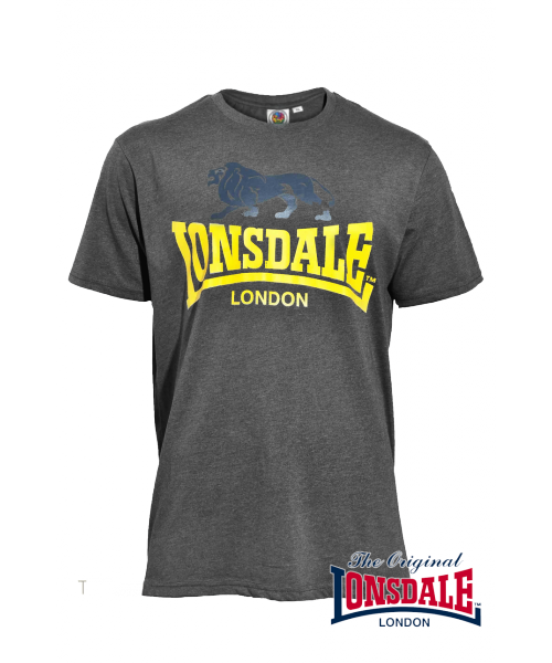 T-shirt LONSDALE LONDON WISBECH Szary