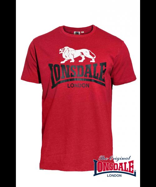 T-shirt LONSDALE LONDON WISBECH Czerwony