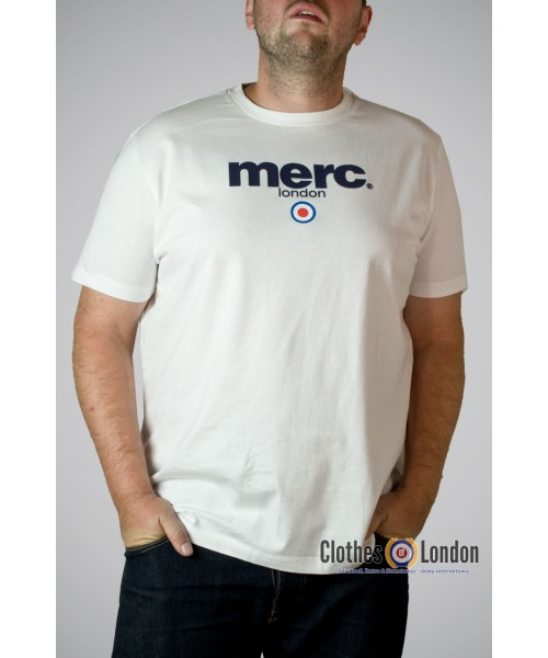 T-shirt Merc London Brighton Biały