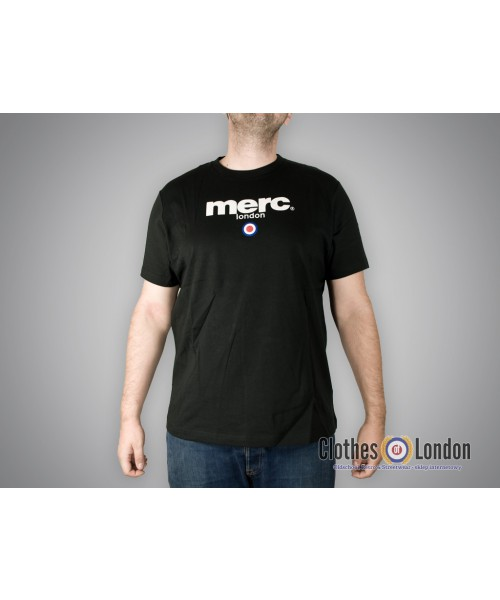 T-shirt Merc London  Brighton Czarna
