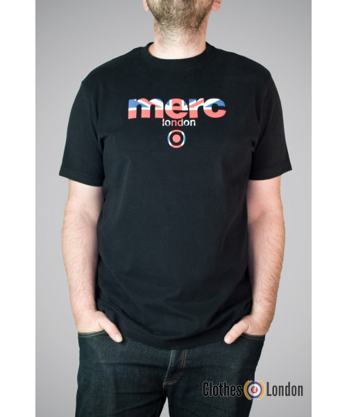 T-shirt Merc London Broadwell Czarny