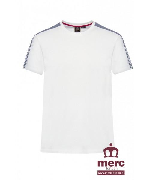 T-shirt MERC LONDON HILLGATE biały