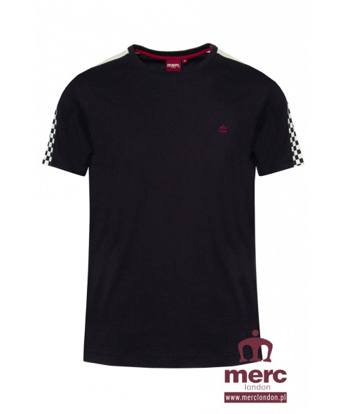 T-shirt MERC LONDON HILLGATE Czarny