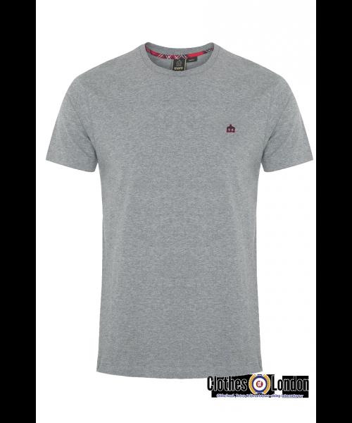 T-shirt Merc London Keyport szary