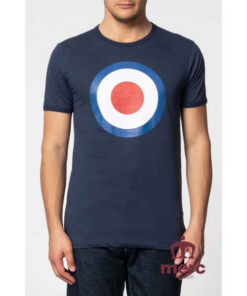 shirt Merc London Ticket Granatowy