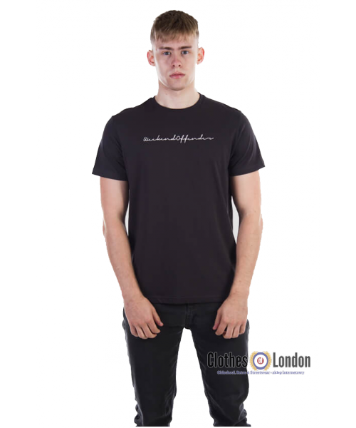 T- Shirt WEEKEND OFFENDER ADAM Carbon
