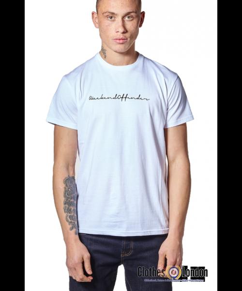 T- Shirt WEEKEND OFFENDER ADAM Biała