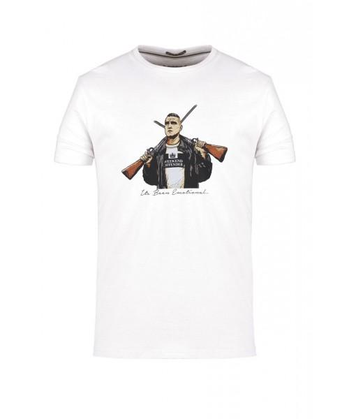 T-shirt WEEKEND OFFENDER BIG CHRIS biała