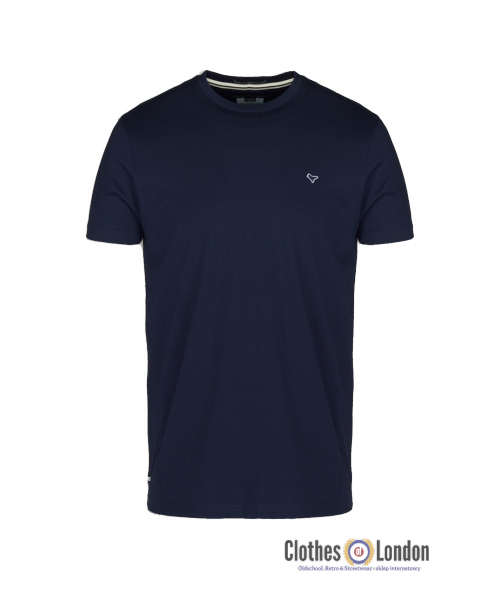 T-Shirt WEEKEND OFFENDER DOVE granatowy