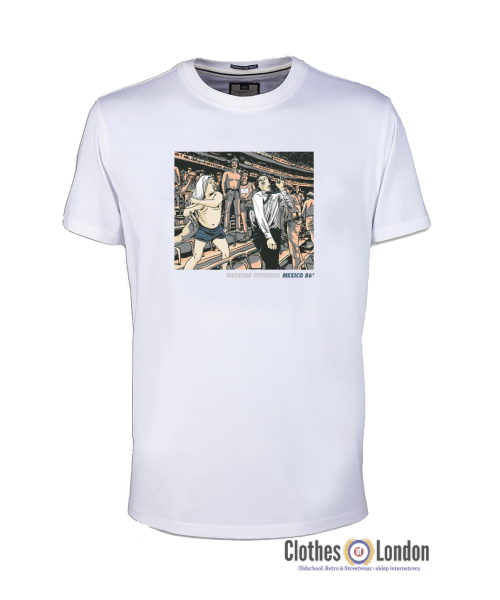 T-shirt WEEKEND OFFENDER MEXICO 86 Biały