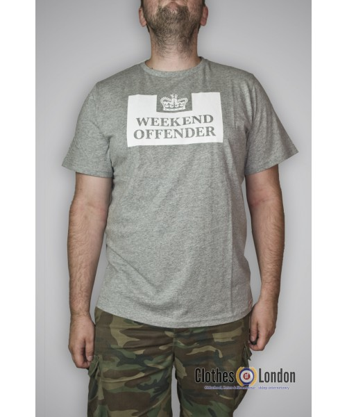 T-shirt Weekend Offender Prison Szara