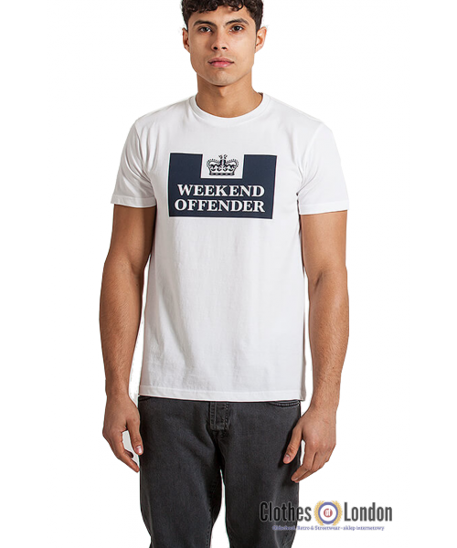T-shirt Weekend Offender Prison Biała