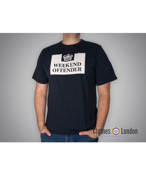 T-shirt Weekend Offender Prison Ciemnogranatowa