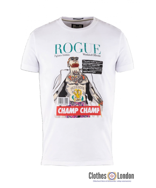 T-shirt WEEKEND OFFENDER ROUGE McGregor Biała