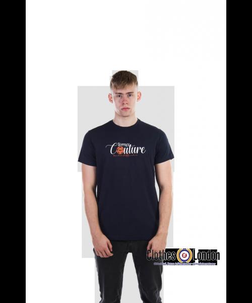 T- Shirt WEEKEND OFFENDER TERRACE COUTURE Granatowa