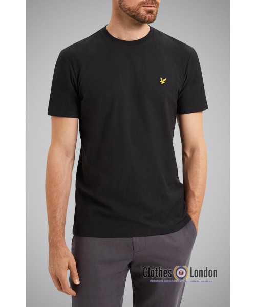 T-shirt Lyle & Scott Crew Neck Czarny