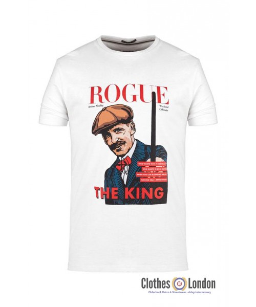 T-shirt WEEKEND OFFENDER ROGUE ARTHUR SHELBY Biała
