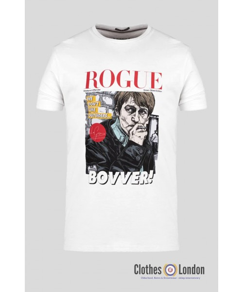 T-shirt WEEKEND OFFENDER ROGUE BOVVER Biała