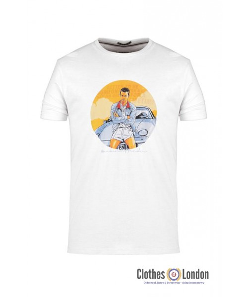 T-Shirt WEEKEND OFFENDER The Business SS19 biały