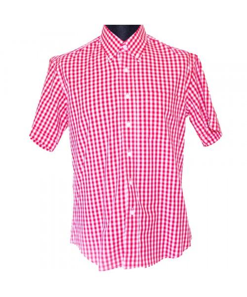 Koszula z krótkim rękawem WARRIOR RED FITZ czerwona