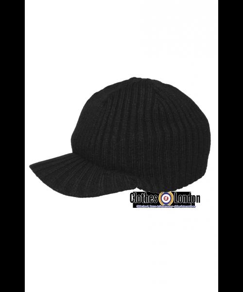 Czapka zimowa z daszkiem JEEP ARCTIC MAX FUCHS czarna
