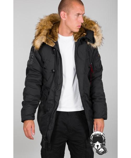 Kurtka zimowa parka ALPHA INDUSTRIES EXLORER Jacket Czarna