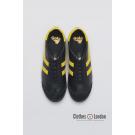 Skórzane buty GOLA HARRIER 50 LEATHER Czarno/żołte
