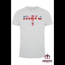 T-shirt MERC LONDON BROADWELL Szara