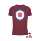 T - Shirt MERC LONDON TICKET Bordowy