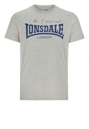 T-Shirt LONSDALE LONDON LYDD szary