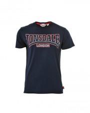 T-Shirt  LONSDALE LONDON ROMSLEY granatowy
