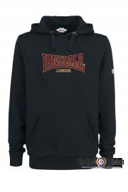 Bluza z kapturem Lonsdale London Classic BRACKLEY Czarna