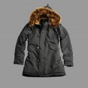 Damska kurtka zimowa Alpha Industries Explorer Wmn Szara