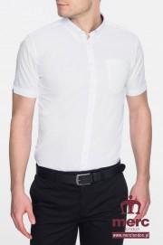 Koszula z krótkim rękawem MERC LONDON BAXTER Biała
