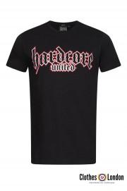 T-shirt HARDCORE UNITED BIG FRONT czarny