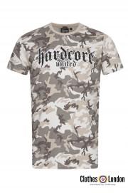 T-shirt HARDCORE UNITED URBAN czarny