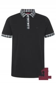 Koszulka Polo MERC LONDON WIGMORE Czarna