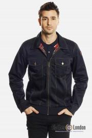Kurtka jeansowa HARRINGTON LEWIS Granatowa