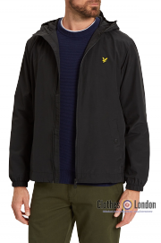 Kurtka LYLE & SCOTT Zip Through Hooded Jacket Czarna