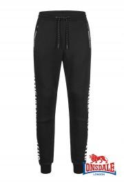 Spodnie dresowe LONSDALE LONDON ALSTON Czarne