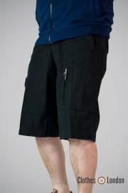 Szorty bermudy Max Fuchs Spirit Czarne