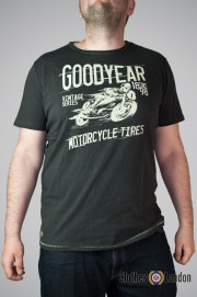 T-shirt Goodyear Alamogordo Antracyt
