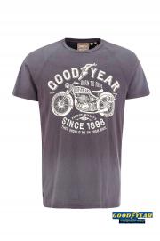 T- Shirt GOODYEAR LAGRANGE Szara