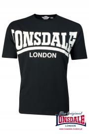 T-shirt LONSDALE LONDON York czarny