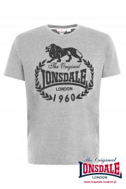 T-shirt LONSDALE LONDON BRACKNELL Szary