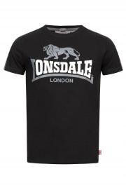 T-shirt LONSDALE LONDON BULVERHYTHE czarny