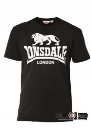 T-shirt LONSDALE LONDON CAOL Czarny