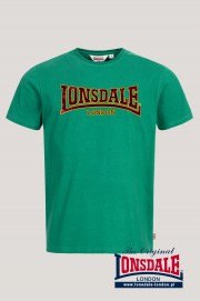 T-shirt LONSDALE LONDON CLASSIC Zielona